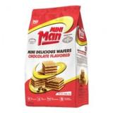 Man Mini Chocolate Wafer Bites, 200g