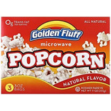 Golden Fluff Microwave Popcorn, 255g