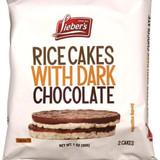 Lieber's Rice Cakes With Dark Chocolate, 30g