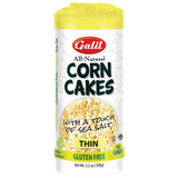 Galil Corn Cakes With A Touch Of Sea Salt Thin, 100g