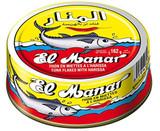 El Manar Light Tuna Flakes With Harissa, 162g
