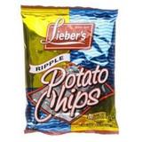 Lieber's Ripple Potato Chips, 21g