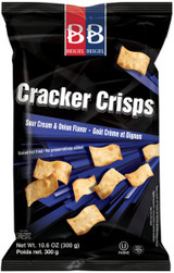 Beigel Beigel Cracker Crisps Nish Nosh Sour Cream & Onion Flavor, 300g