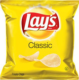 Lays Classic Potato Chips, 28g
