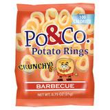 Po & Co BBQ Potato Rings, 21g