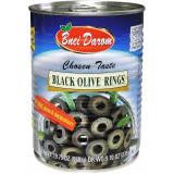 Bnei Darom Black Olive Rings, 560g