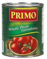Primo Whole Plum Tomatoes, 796ml