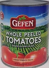 Gefen Whole Peeled Tomatoes, 794g