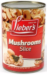 Lieber's Mushroom Slices, 227g