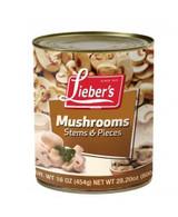 Lieber's Stems & Pieces Mushrooms, 454g