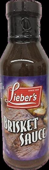 Lieber's Brisket Sauce, 396g