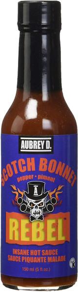 Aubrey D. Scotch Bonnet Insane Hot Sauce, 150ml
