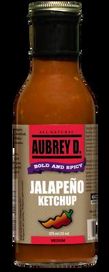 Aubrey D. Jalapeno Ketchup, 355ml