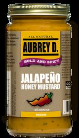 Aubrey D. Jalapeno Honey Mustard, 375ml