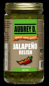 Aubrey D. Jalapeno Relish, 375ml