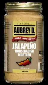 Aubrey D. Jalapeno Horseradish Mmustard, 375ml