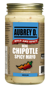 Aubrey D. Jalapeno Real Chipotle Spicy Mayo, 375ml