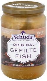 Yehuda Original Poisson Gefilte Fish, 680g