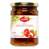 Haddar Sweet Pepper Strips, 340g