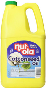 Nut-ola Cottonseed Oil, 2.83l