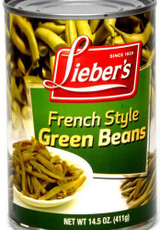 Lieber's French Style Green Beans, 425g