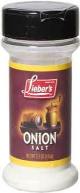 Lieber's Onion Salt, 155g