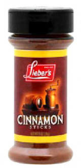 Lieber's Cinnamon Sticks, 28g