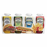 Heinz Condiment Assorted 4-Pack, 750ml