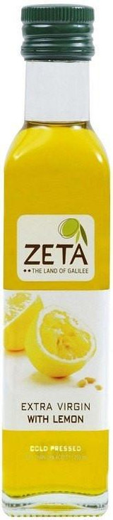 Zeta Extra Virgin Lemon Flavored Olive Oil, 250ml