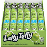 Laffy Taffy Sour Apple Flavor Rope Candy 24pk, 0.81 Oz