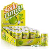 Zazers Green Apple Soda Candy Novelty, 12g
