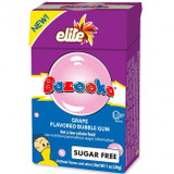 Elite Bazooka Grape Flavored Sugar Free Bubble Gum, 28g