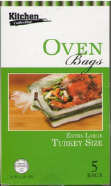 Kitchen Collection Oven Bags 5pk