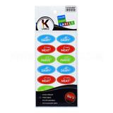 Kosher Labels English 18pk