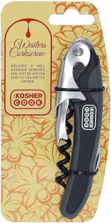 The Kosher Cook Rubber Handle Waitress Corkscrew