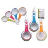 Luciano Multi-color Measure Spoons 6pk