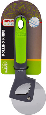 The Kosher Cook Green Parve Rolling Knife