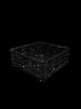 Freemantle  Caddy Black Luncheon Basket