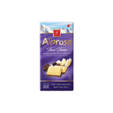 Alprose Two Tone Double Milk And White Chocolate Bar, 100g