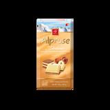 Alprose White Chocolate With Hazelnut Praline, 100g