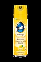 Pledge® Enhancing Polish, Lemon, 390g