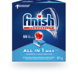 Finish All in 1 Max Dishwasher Detergent, 140 Tabs
