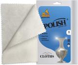 Ner Mitzvah Silver Polish Cloth