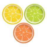 "Tutti Frutti 7"" Round Assorted Plates, 8pk"
