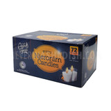 Aish Tamid 3 Hour Nieronim Candles, 72pk