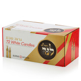 L'ner 4 Hour White Candles, 72pk
