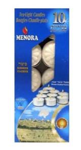 Menora 5 Hour Tea Lights, 10pk
