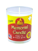 Ner Mitzvah 26 Hour Glass Memorial Candle