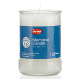 Lerner 72 Hour Glass Memorial Candle