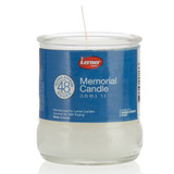 Lerner 48 Hour Glass Memorial Candle